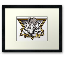 BRAINIACS Framed Print