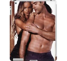 Artistic portrait of a sexy young couple art photo print iPad Case/Skin