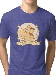 Golden Retriver Tri-blend T-Shirt