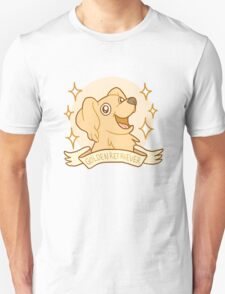 Golden Retriver Unisex T-Shirt