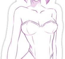 Ghost in The Shell Motoko Sticker