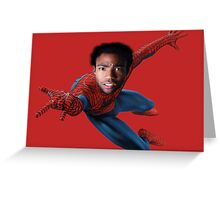 Donald for Spiderman Greeting Card