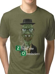 Ziltoid as Heisenberg Tri-blend T-Shirt