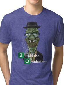 Ziltoid as Heisenberg Tri-blend T-Shirt
