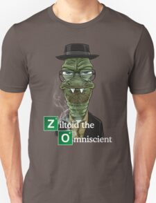 Ziltoid as Heisenberg Unisex T-Shirt