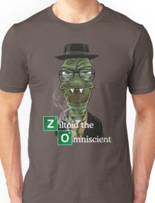Ziltoid as Heisenberg Unisex T-Shirt