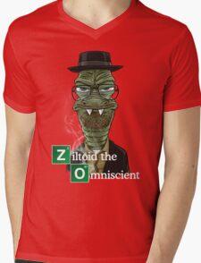 Ziltoid as Heisenberg Mens V-Neck T-Shirt