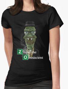 Ziltoid as Heisenberg Womens Fitted T-Shirt