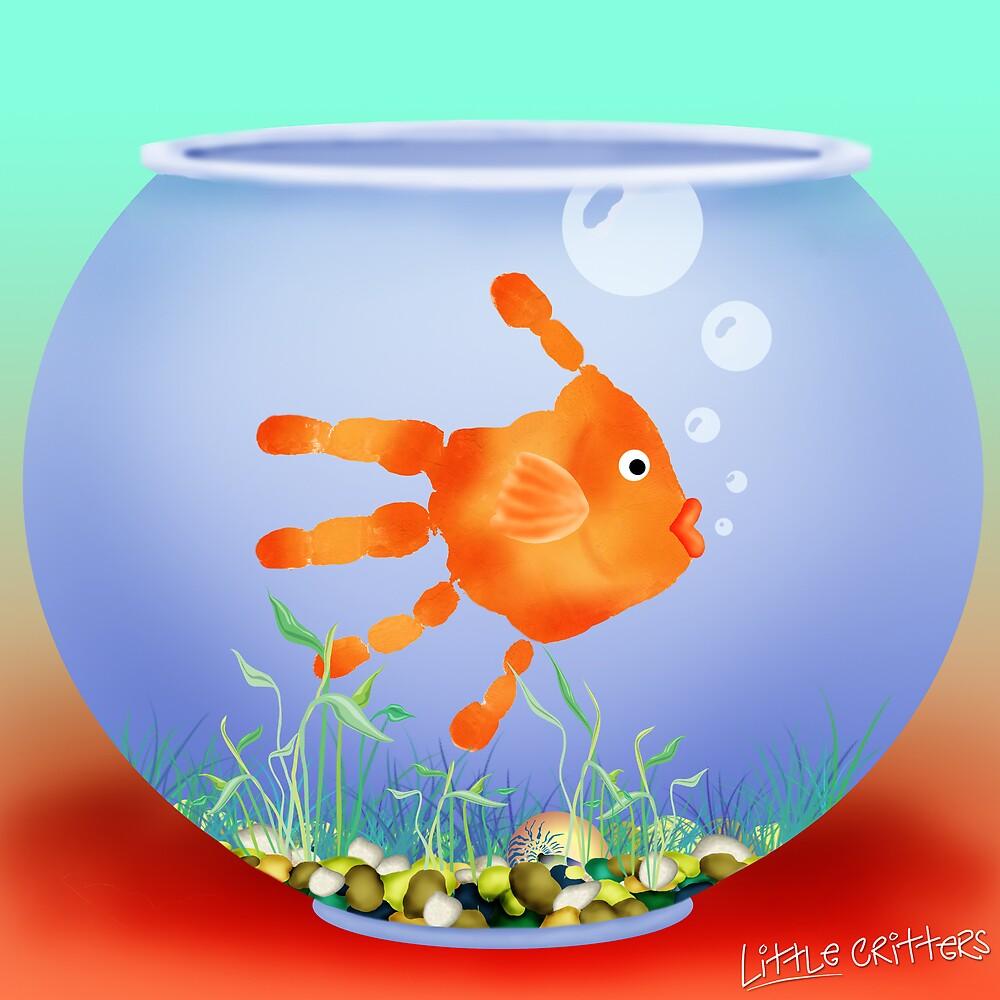 Fish Bowl Critter by Carol Heath