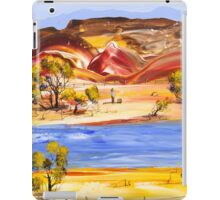 Waiting on a ride iPad Case/Skin