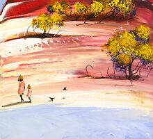 Walk with mum by Adam Bogusz