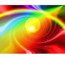 Space Rainbow Photographic Print