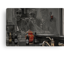 Drinks For Three Canvas Print