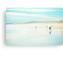 Things You Do At The Beach Canvas Print