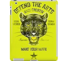 DEFEND THE ARTS PANTHER iPad Case/Skin