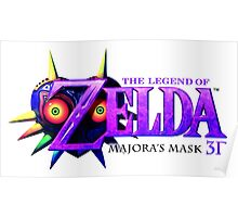 The Legend of Zelda Majora's Mask 3D Poster