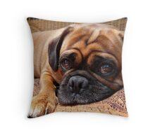 Perfect Pug Throw Pillow
