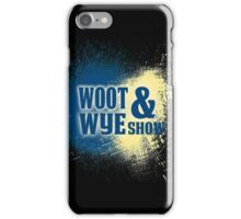 Woot and Wye Splash iPhone Case/Skin