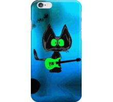 Tattered Mouse, a Rock Star Cat iPhone Case/Skin