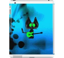 Tattered Mouse, a Rock Star Cat iPad Case/Skin
