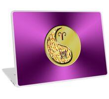 Aries & Rooster Yin Metal Laptop Skin