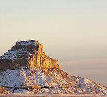 Fajada Butte, Sunset by Mitchell Tillison
