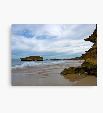 Bay of Martyrs, Victoria. Canvas Print