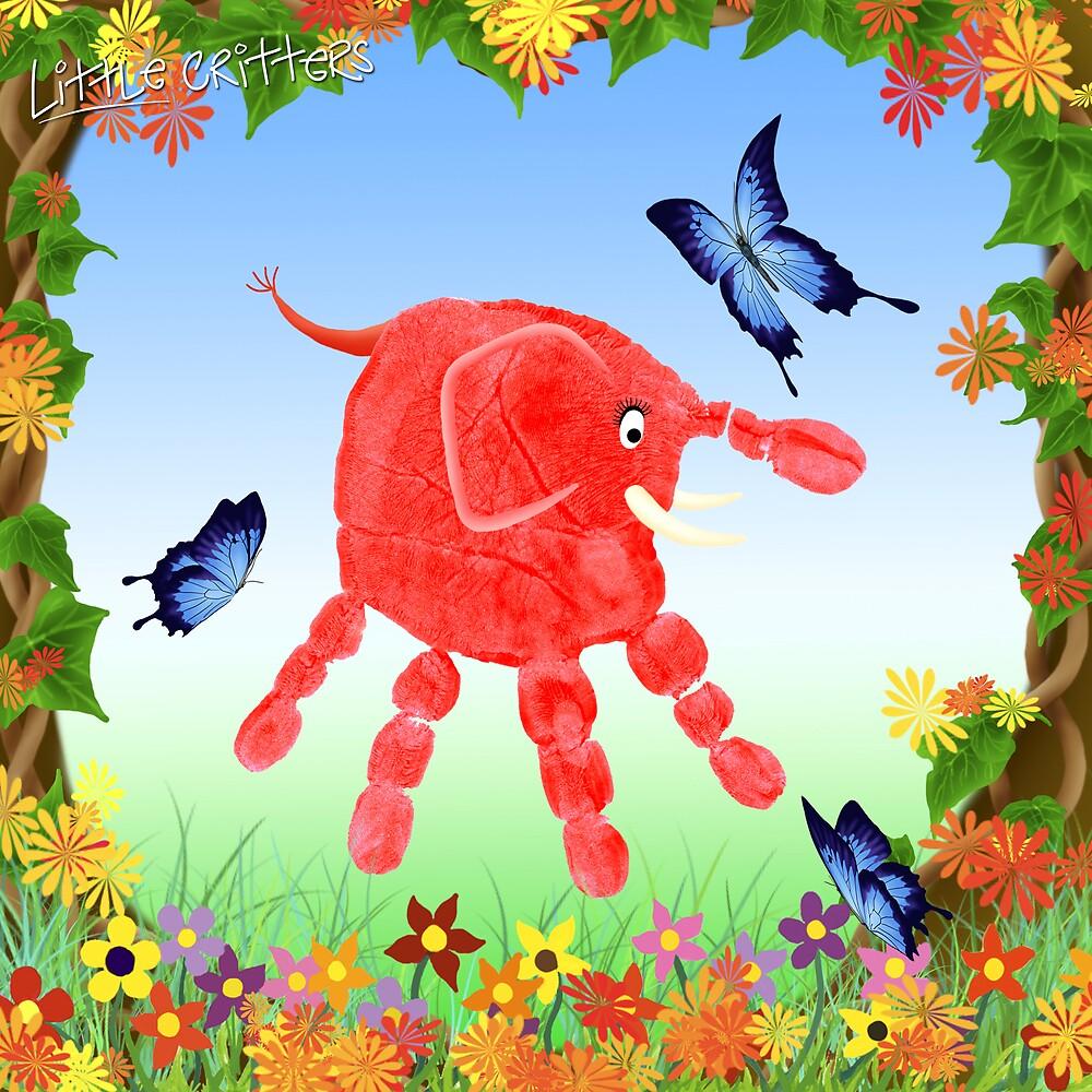 Spring Garden Critter by Carol Heath