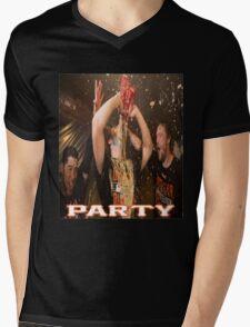 Madison Bumgarner Mens V-Neck T-Shirt