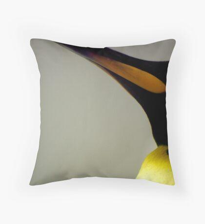 King Penguin Beak Throw Pillow