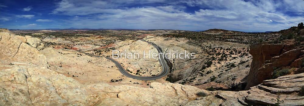 Highway 12 - Panorama by Brian Hendricks