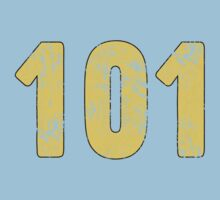 Fallout Vault 101 - Vintage Blue Kids Clothes