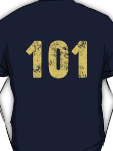 Fallout Vault 101 - Vintage Blue T-Shirt
