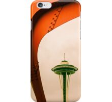 Space Needle from Olympic Sculpture Park iPhone Case/Skin