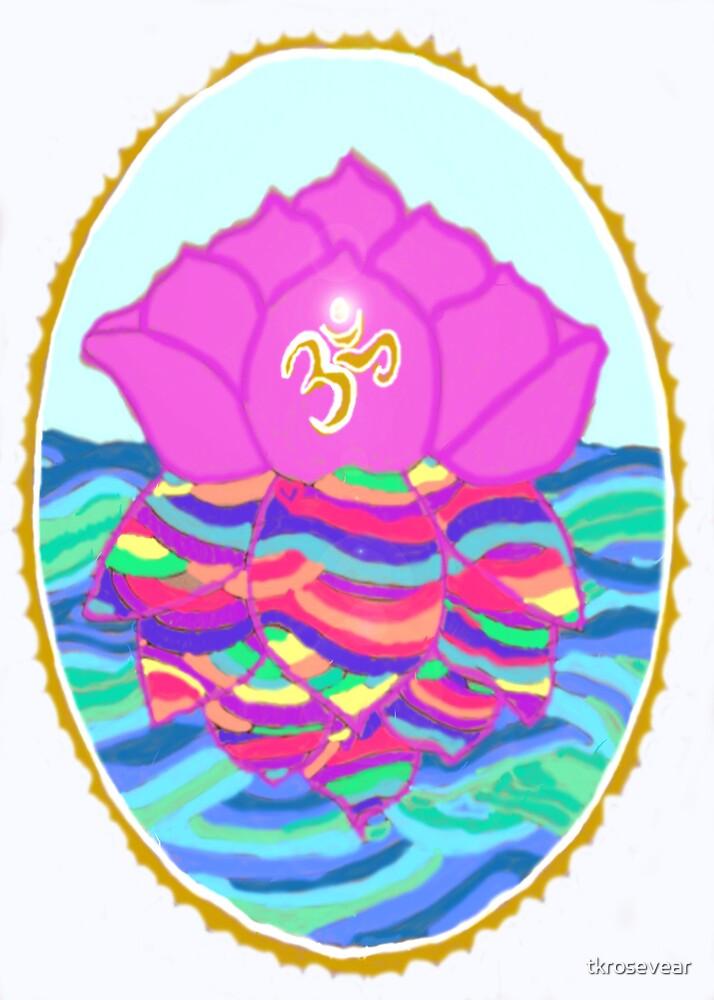 Lotus Mandala by tkrosevear