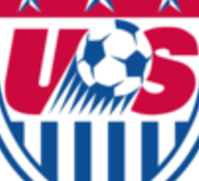 US soccer Sticker