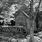 Grist Mill at Babcock by Lisawv