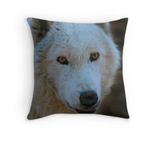 Beauty in a look Throw Pillow