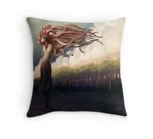 The Sundered Throw Pillow