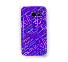 Yoga Asanas Positions Samsung Galaxy Case/Skin