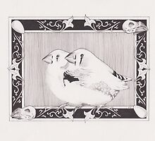 Dom's Finches by Esther Green