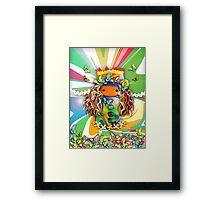 CHUNKIE Party Framed Print