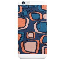 3d Retro rectangular pattern iPhone Case/Skin