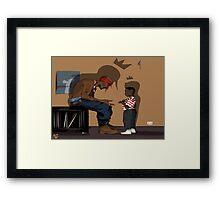 Kendrick Lamar Framed Print