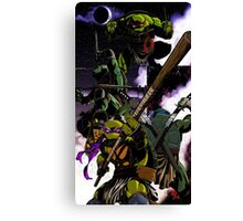 TMNT Colored Canvas Print