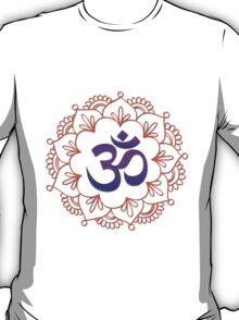 Yoga Design / Om Motif 1 T-Shirt
