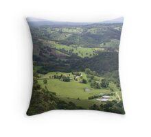 Landscape From Montville Throw Pillow