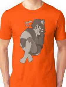 Cute rikki eating her new tail! Unisex T-Shirt