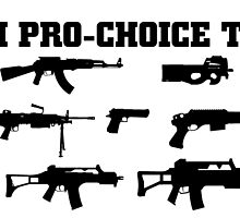 i'm pro choice  too by teeshoppy