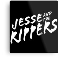 Jesse and the Rippers Funny Geek Nerd Metal Print